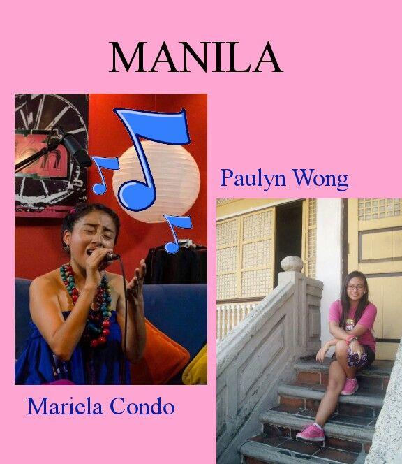 Mariela and Paulyn