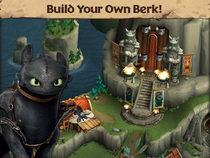 Dragons: Rise of Berk dragons screen1 1024x768