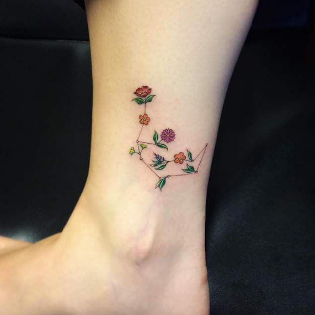 Tiny Flower Tattoos
