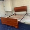 Midcentury Full Bed Frame Set