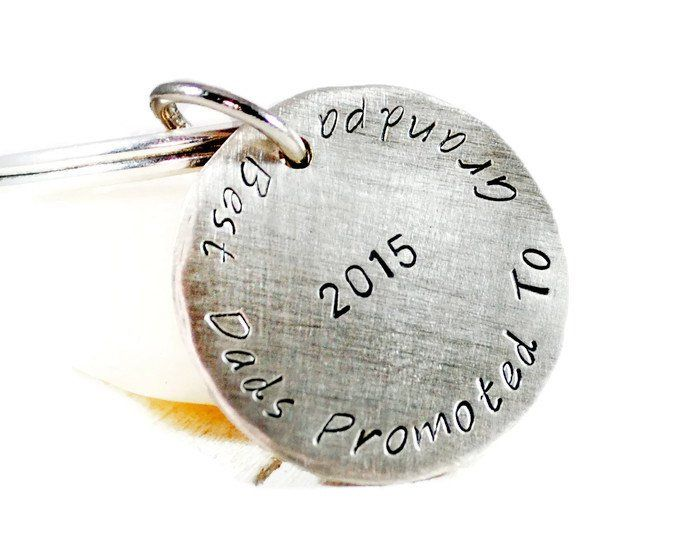 Custom Personalized Disc Keychain.