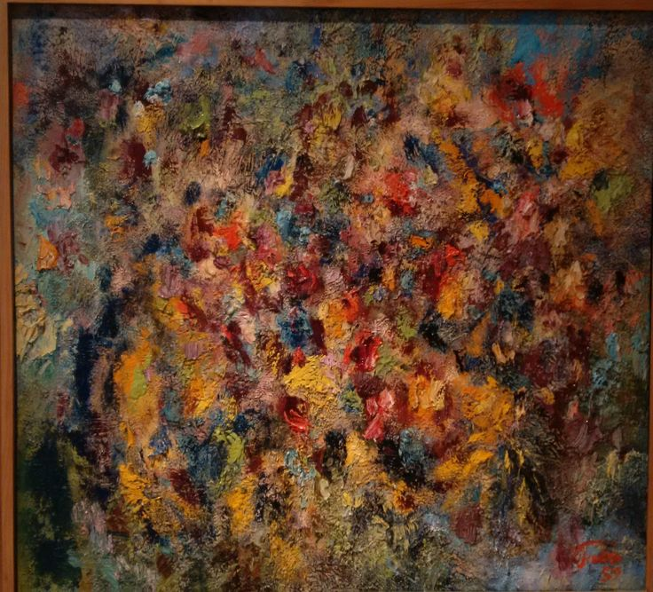 Wolfgang Paalen Migración de Yucatán, 1959 Óleo sobre tela