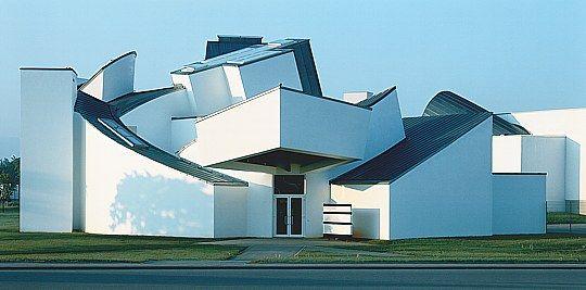 Vitra Design Museum Weil am Rhein von 1988, Frank O. Gehry Architects