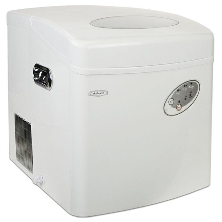 Maxi-Matic Mr Freeze MIM-15 Portable Ice Maker w/Ice Scoop (White)