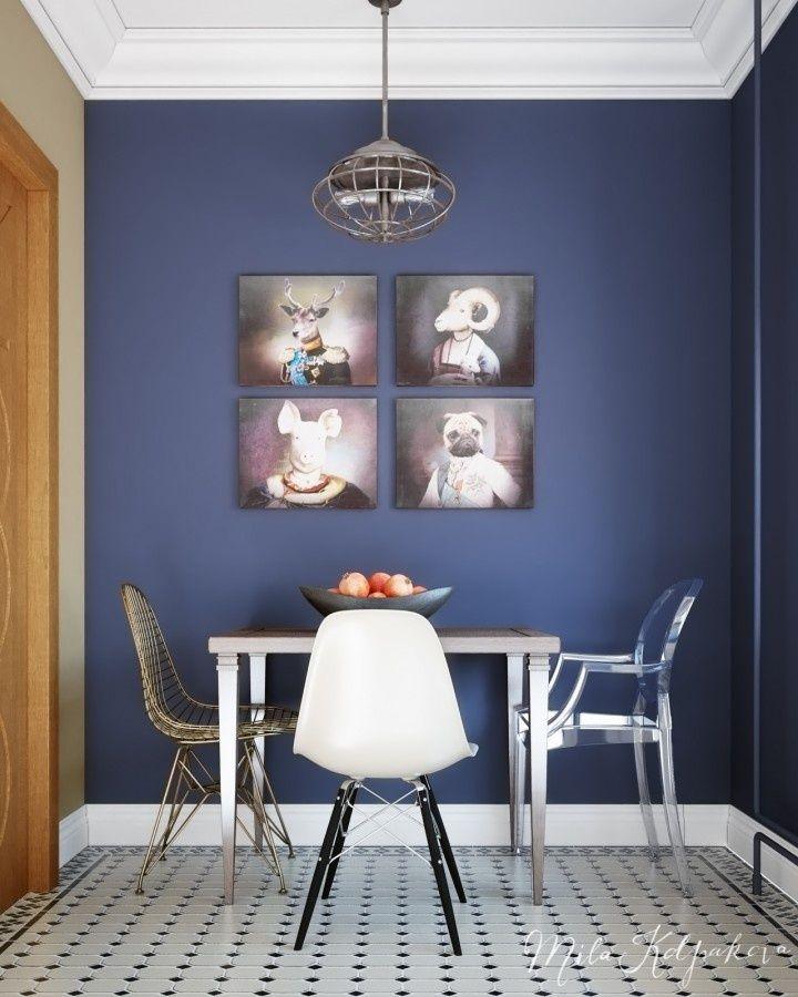 'D' is silent (Однокомнатная квартира П44Т) / Концепция интерьера маленькой квартиры (до 49 кв. м.) / Конкурсы / TheDecoPost