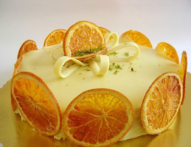 La cucina piccoLINA: Torta chantilly al grand marnier di Montersino