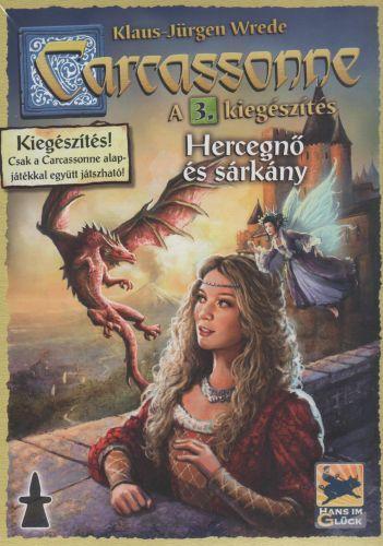 Carcassonne - 3 Hercegnő és sárkány társasjáték - Szellemlovas társasjáték webshop