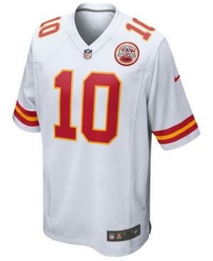 Nike Men's Tyreek Hill Kansas City Chiefs Game Jersey - White XXL