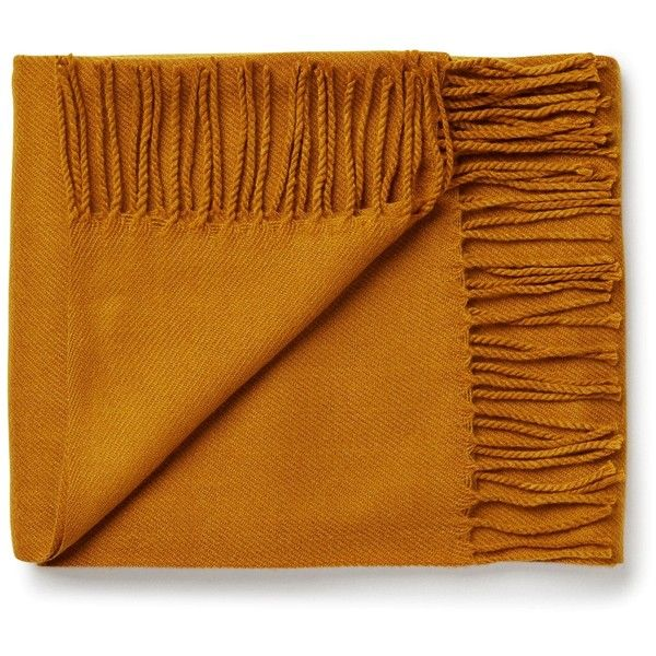 Tangerine Scarf ❤ liked on Polyvore featuring accessories, scarves, woven scarves, fringe scarves, fringe shawl, shawl scarves and short scarves