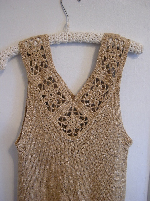 Ravelry: yarnstarved's Knit & Crochet Swing Tank