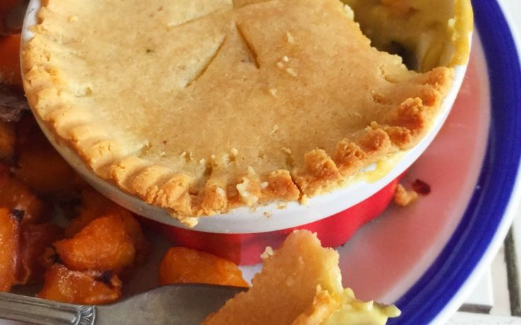 Chicken Pot Pie with Grain Free Pastry