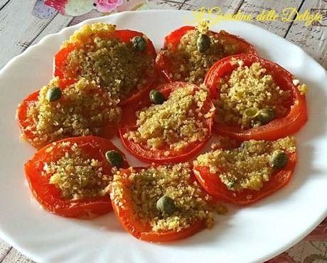 Pomodori+a+fette+cottura+al+forno