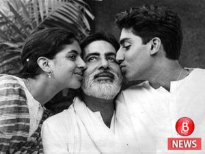 Big B shares an adorable picture of Shweta and Abhishek from the sets of Amar Akbar Anthony