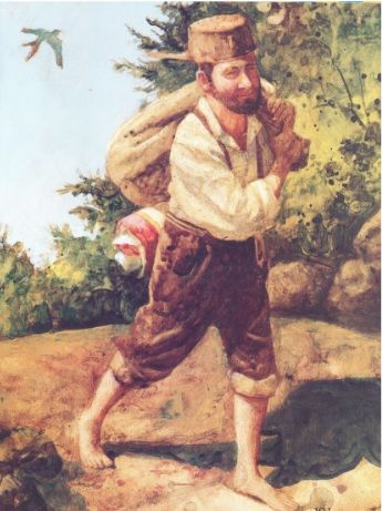 Johnny Appleseed His lifestyle and preferences were completely opposite the norms of frontier life. He was a vegetarian. He preferred to sleep outdoors and avoided towns and settlements. He thought it cruel to ride a horse, chop down a tree, or kill a rattlesnake. The stories go on. The settlers viewed these attitudes as preposterous and outrageous but very amusing.
