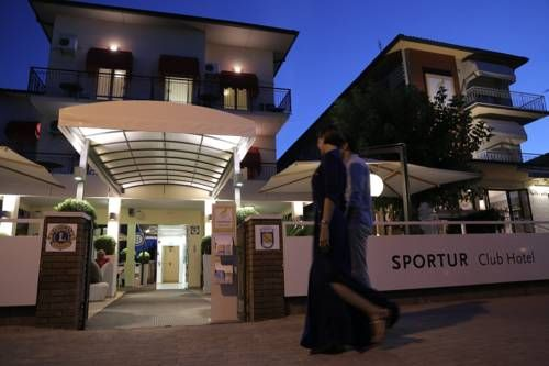 Sportur Club Hotel Cervia Located in front of the Adriatic Sea's sandy beaches, Sportur Club Hotel in Cervia features a private beach area, a range of wellness facilities and an on-site restaurant.