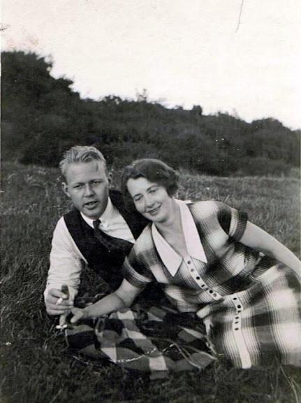 Mine forelskede bedsteforældre Hans og Jensine