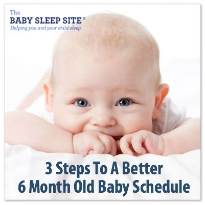 6 month old baby schedules can be tricky to create. Need help getting your 6 month old baby on a schedule? Use The Baby Sleep Site®'s 3 easy steps!