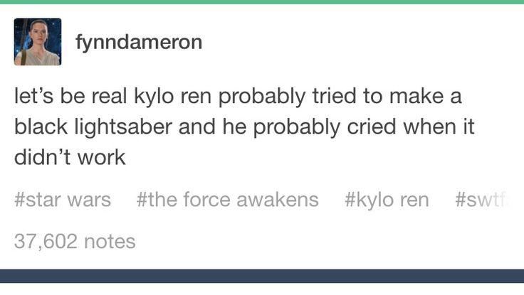 Emo Kylo-Ren