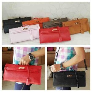 Restok!!hermes kelly cut super IDR 270K 30x6x14 bahan kulit togo colors: red, pink, brown, gray, orange, black. cp Raissa - 089608608277