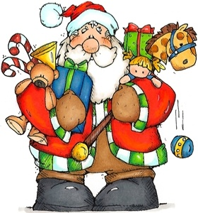 .: Santa Clause, Papa Noel, Christmas Santa, Christmas Images, Card, Clipart Holidays, Country Graphics, Merry Christmas, Rubber Stamps