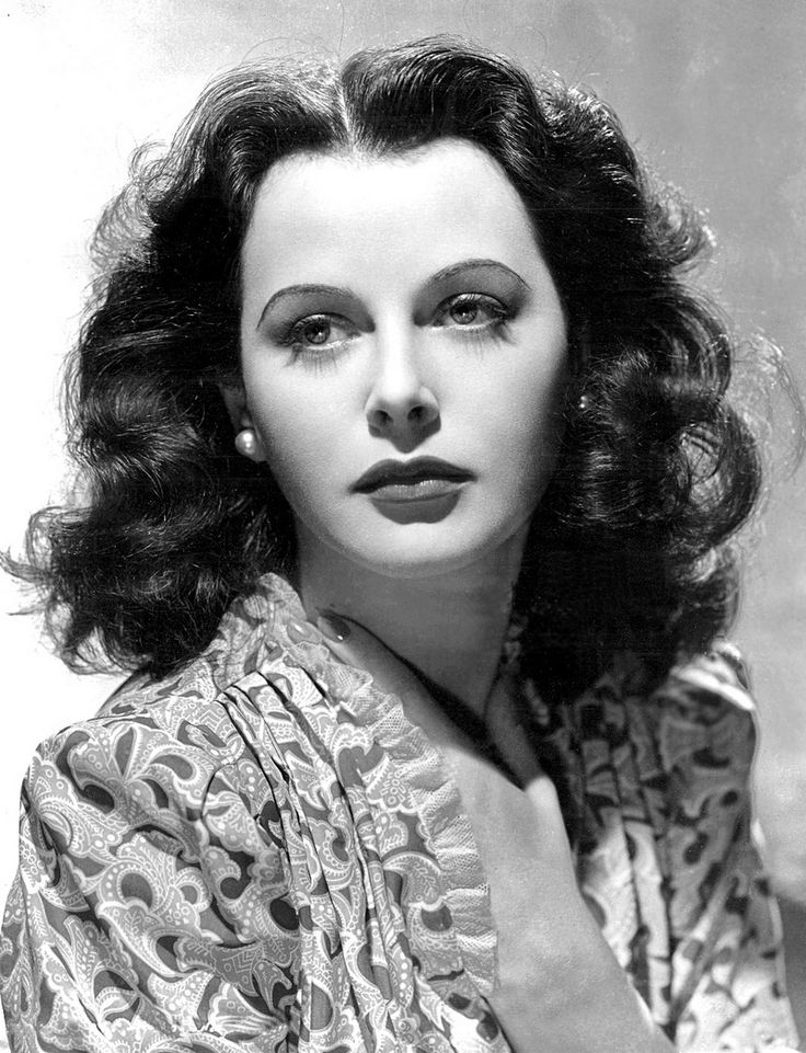 1940s Hairstyle Hedy Lamarr