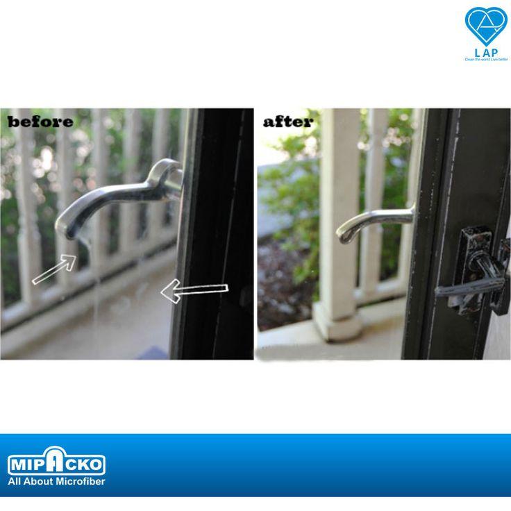 Mau tau cara membersihkan jamur dan kotoran di kaca yang ampuh ?