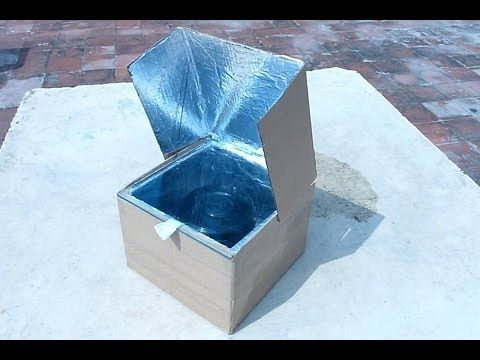 How to make a simple solar cooker to understand the use of solar energy - SurvivalKit.com SurvivalKit.com