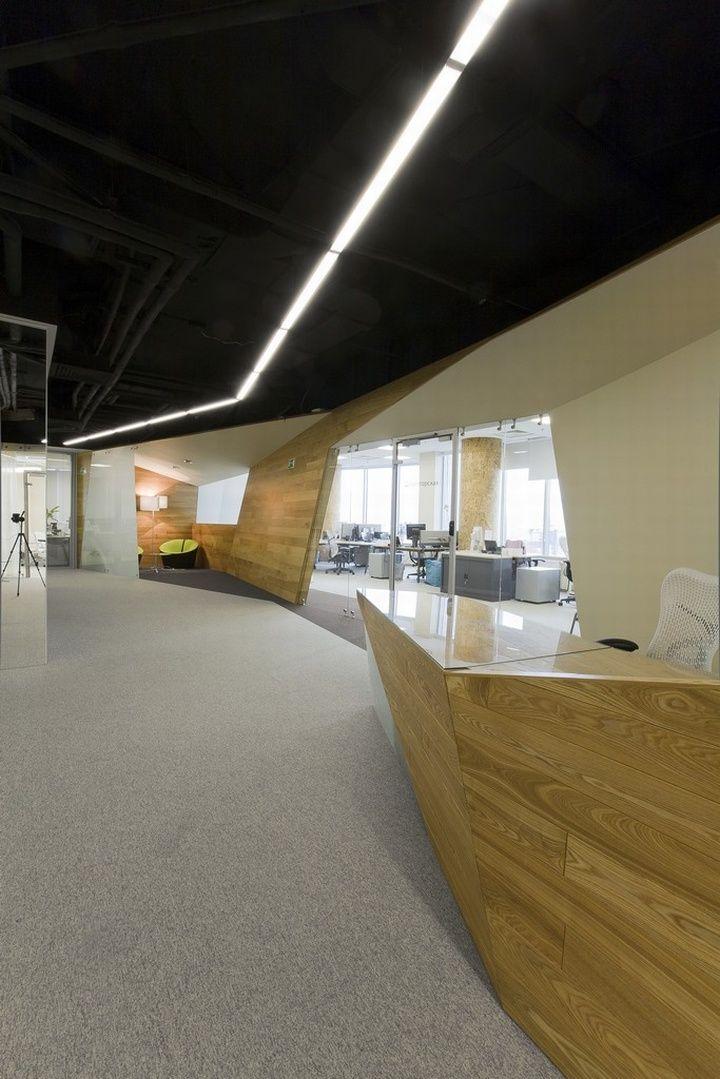 office design concept ideas. modern office design by za bor architects yandex concept ideas