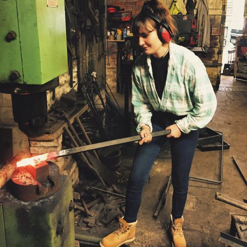 chloerosanna   A Little Crafters Wonder Journal Blacksmith