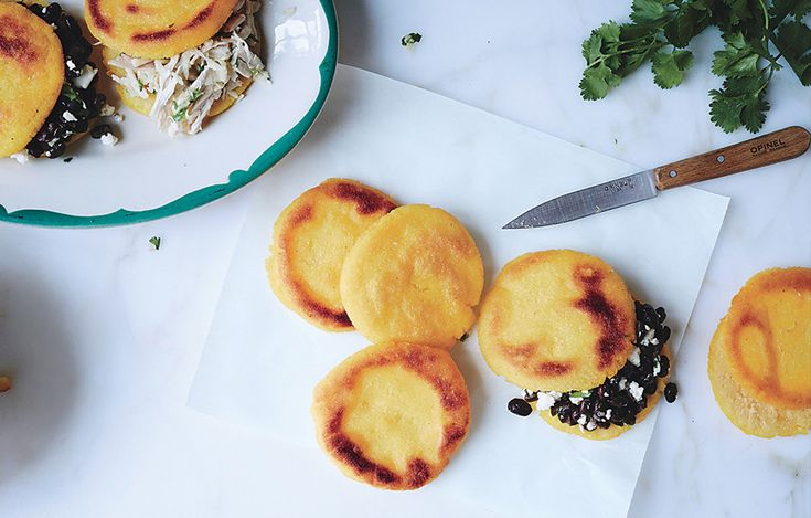 Chef Ryan Pera, Coltivare Pizza & Garden, Houston, learned the art of arepas from his sister-in-law. Now, they're his easy Sunday meal of choice, packed with leftovers or farm-fresh produce.
