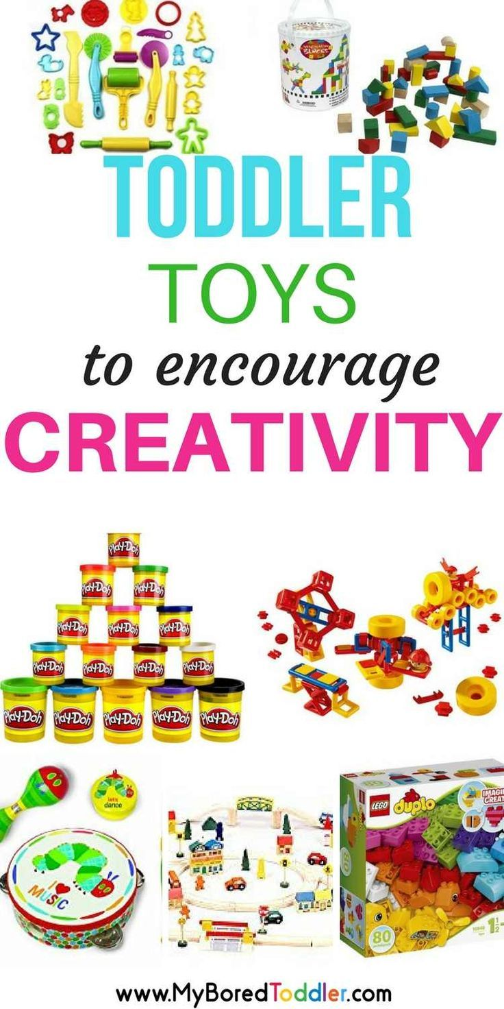 Best toddler toys to encourage creativity