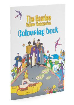The Beatles: Yellow Submarine Coloring Book, #ModCloth - uuuh forget the kids, I want it!!