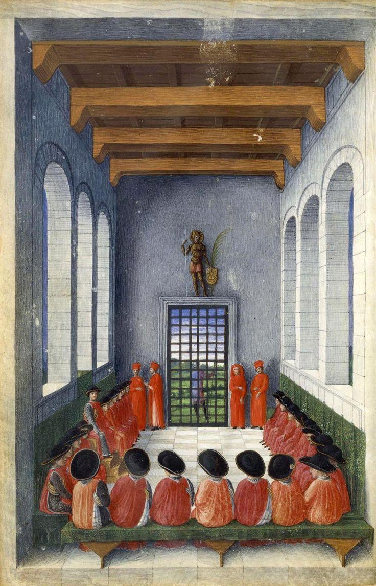 Giovanni Bellini (Venice, circa 1430 - Venice, 1516) Congress of the Order of the Crescent