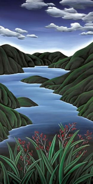 Fiordland Flax by Diana Adams - imagevault.co.nz