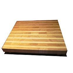 """Sevy Wood Cutting Board - 18"""" x 16"""""""