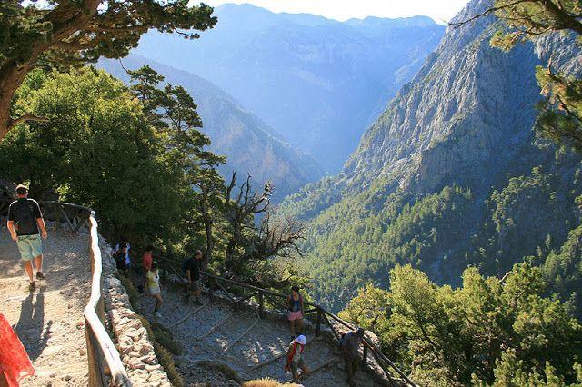 National Parak of Crete - Samaria Gorge, Lefka Ori (White Mountains)