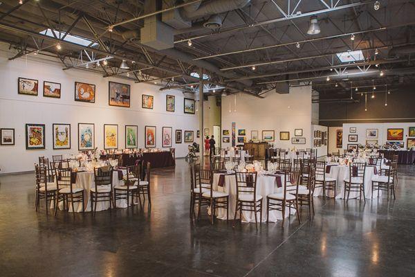 California Art Gallery Wedding