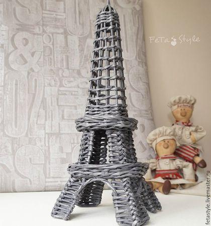 Детская ручной работы. Эйфелева Башня плетеная интерьерная. Fetastyle (Татьяна)…
