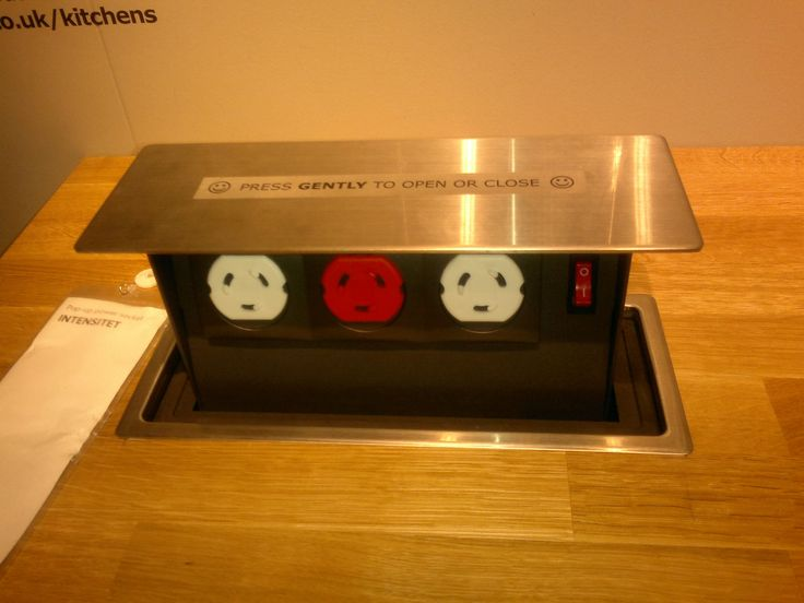 Ikea Plug Socket For An Island Where It All Happens The