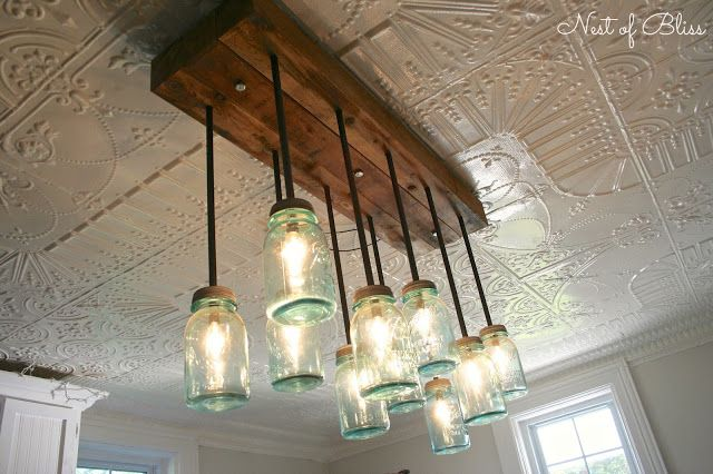 17 Best Ideas About Light Fixture Makeover On Pinterest: 17 Best Ideas About Ball Jar Lights On Pinterest