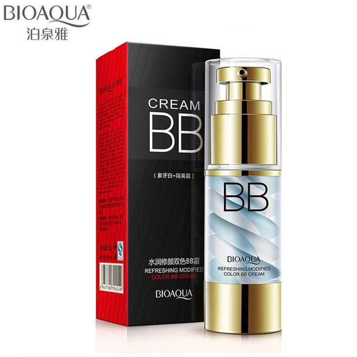 BIOAQUA Brand Ice Cream Air Cushion BB CC Cream Breathable Isolation Liquid Concealer Foundation Face Primer Base Nude Makeup