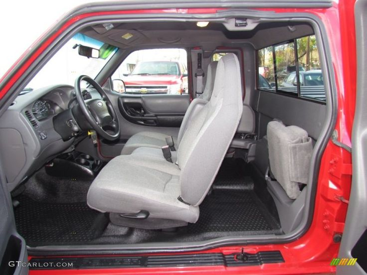 Dark Graphite Interior 2002 Ford Ranger Edge SuperCab Photo #58550498