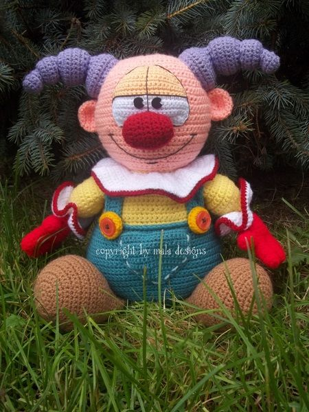Amigurumi XXL, Clown