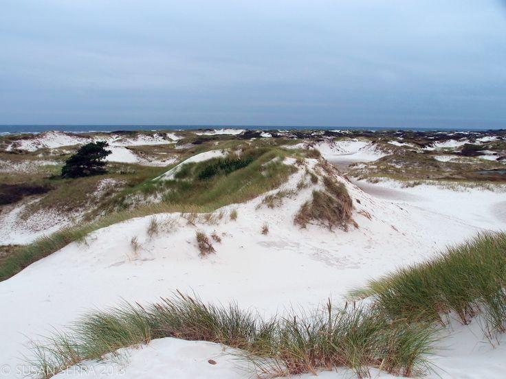 Majestic dunes surrounding clean bodies of water - Bornholm, Denmark