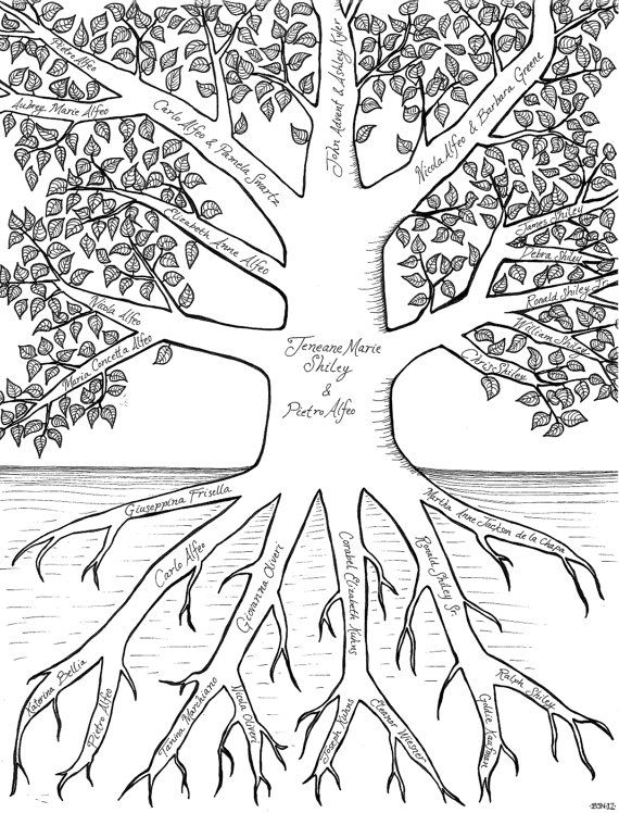 52 Best Family Tree Templates Images On Pinterest Family Trees