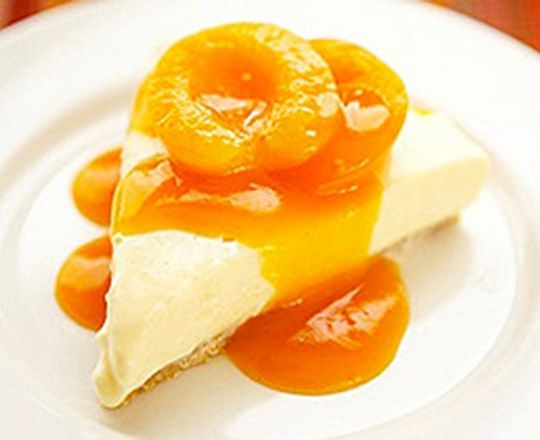 Apricot Nectar Cheesecake | PHILADELPHIA #recipes #cheesecakerecipes