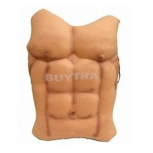 1 PC Halloween Decor Fake Muscle Chest Skin Eva Foam Novetly Fancy Funny Party Decoration #Affiliate