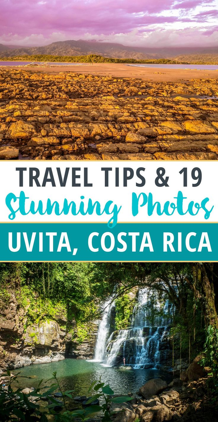 Uvita, Costa Rica, home of the Annual Whale and Dolphin Festival - the best place to see whales! Uvita is great for relaxing, eating out, exploring waterfalls and beaches, and going on adventure tours.