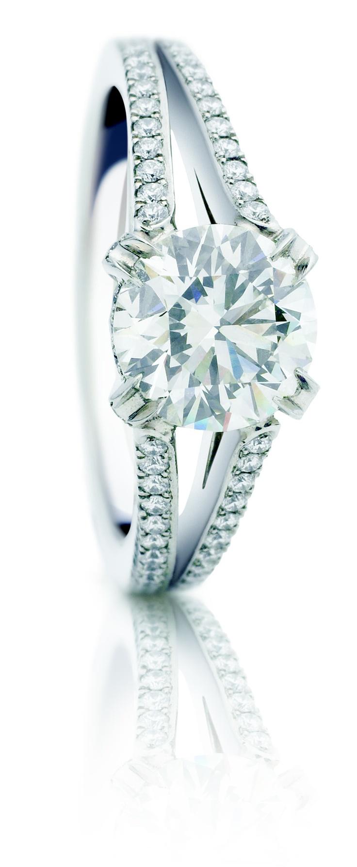 97 best Rosendorff Engagement Rings images on Pinterest Diamond