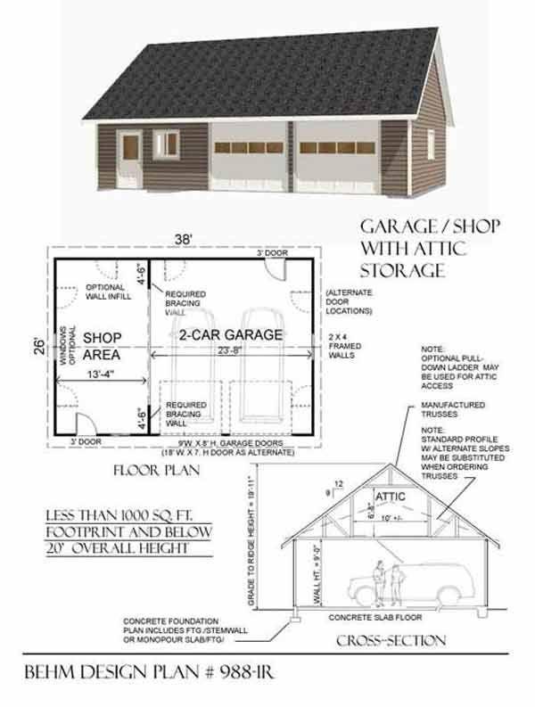 1000 images about garage plans on pinterest for 5 car garage plans